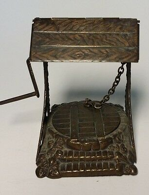 W. Avery & Son, WISHING WELL NEEDLE CASE~~ORIGINAL ANTIQUE c1876~~Redditch