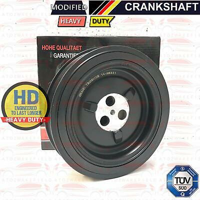 For Ford Transit 2.4 TDCI Diesel engine Crank shaft pulley TVD 100 115 140 BHP