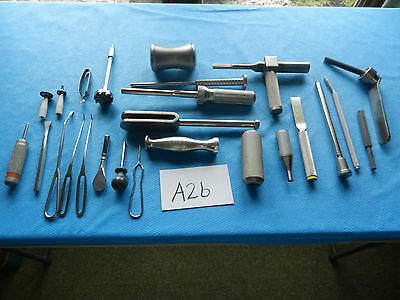 Richards Howmedica Zimmer DePuy Surgical Orthopedic Misc. Instruments