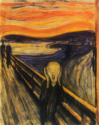 The Scream   by Edvard Munch   Paper Print Reproduction