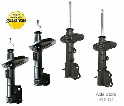 Full Set - 4 New DTA Gas Charged Strut Assemblies OE Repl. Fits Subaru Forester