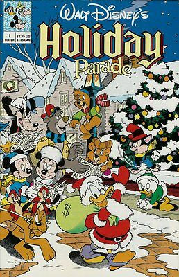 Walt Disney's Holiday Parade # 1 & Autumn Adventures # 1 - Nice Condition