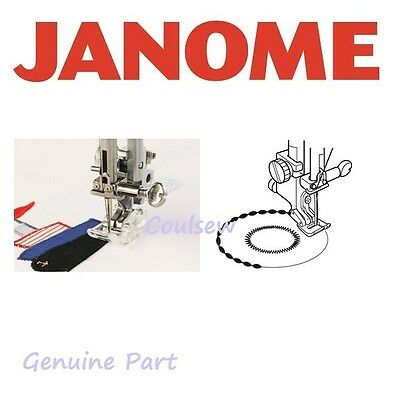 JANOME Sewing Machine APPLIQUE CRAFT FOOT (B) - Fits Cat A Only