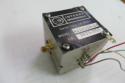 INTEGRA MICROWAVE 2-26GHz YIG Tuned Filter