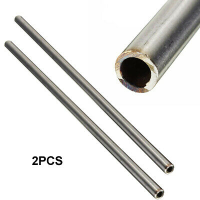 2pcs 304 Stainless Steel Capillary Tube OD 8mm x 6mm ID, Length 250mm