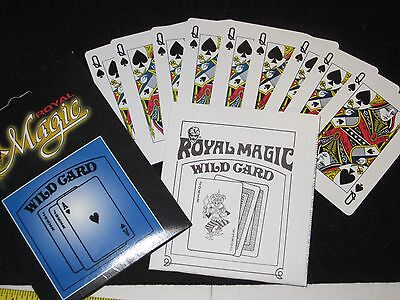 Wild Card Magic Trick - Close-Up, Street, Illusion, Classic, Cards All Change
