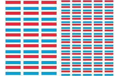 Syria Flag Stickers rectangular 21 or 65 per sheet