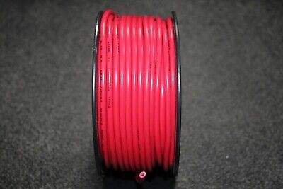 12 Gauge Wire 100 Ft Red Primary Awg Stranded Copper Power Remote Awg 12 Volt
