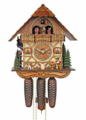 Adolf Herr Cuckoo Clock - The Merry  Beer Drinker AH 436/11 8TMT NEW