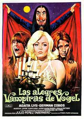 Vampires Of Vogel Poster 01 A4 10x8 Photo Print