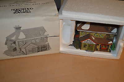 """Department 56 New England Village """"Bluebird Seed & Bulb"""" No. 5642-1 In Box"""