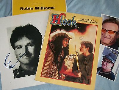 ROBIN WILLIAMS Autographed Photo & Photos - Very Unique