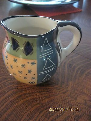 Hand Painted Pitcher South Africa Julian Keyser Comtemporary