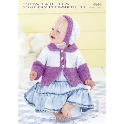 Sirdar Baby Knitting Pattern - Poncho and Beret - 1516 ...