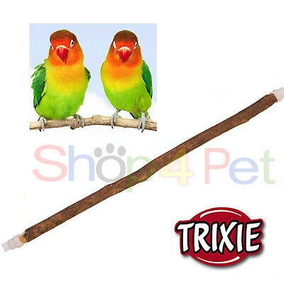 Bird Wood Perch For Cage Real Tree Branches Budgie Canary-Small Birds Pet
