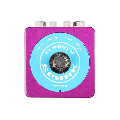 Mooer Audio Spark Flanger Guitar Effect Pedal Small Footprint - Brand New!