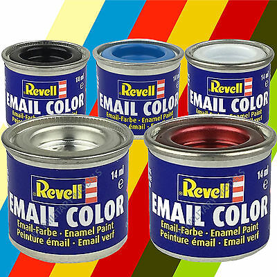 Revell Enamel Paints 14ml - Choose Colours and Quantity - Model Paints