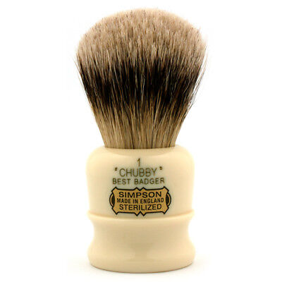 Simpsons Chubby CH1 Best Badger Shaving Brush
