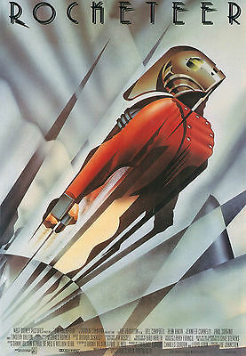 The Rocketeer Giant Poster - A0 A1 A2 A3 A4 Sizes
