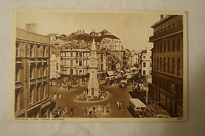 Memorial Clock Tower - Hastings - England - Vintage - Collectable - Postcard.