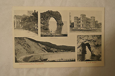 Lulworth Cove - Near Weymouth - England - Vintage - Collectable - Postcard.