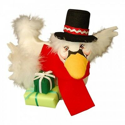 "Annalee Christmas Goose With Top Hat & Presents 6"" New 2014 751014"