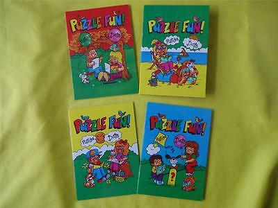 Mini A6 Puzzle Fun Books -Party Loot Bag Toys Favours Childrens Girls & Boys