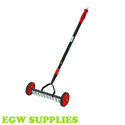 Darlac Lawn Scarifier Removes Moss Thatch debris, Garden Lawn Care Tools