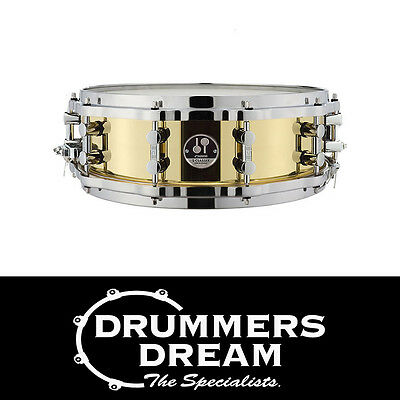 "Sonor S-Classix Brass 14"" x 5"" Snare Drum RRP $1,049! ON SALE NOW! Tunesafe lugs"