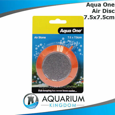 #14043 Aqua One PVC Encased Air Disc 7.5cm Aquarium Fish Tank Round Air Stone