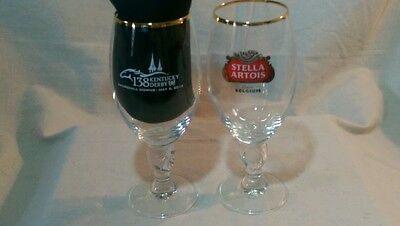 Stella Artois Beer Chalice, 138th Kentucky Derby edition, lot of 2