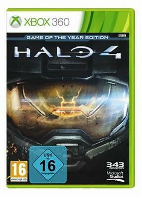 HALO 4 - Game of the Year Edition **Microsoft Xbox 360 NEU