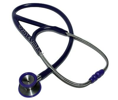 Professional Cardiology 2-sided Stethoscope Purple, S18,  Life Limited Warranty