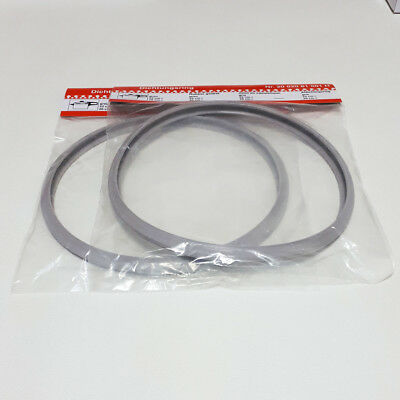 TWO Pieces 22cm Silicone Rubber Sealing Gasket Ring for Fissler Pressure Cookers