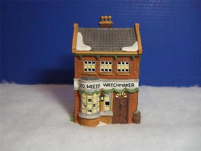 Department 56 Dickens Village - Geo Weeton Watchmaker -1988