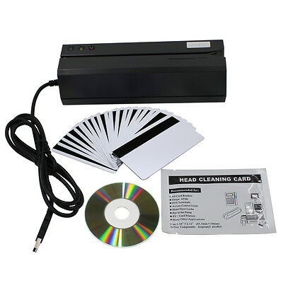 MSR606i Magnetic Stripe Credit Card Reader Writer Encoder 3-Track MSR206