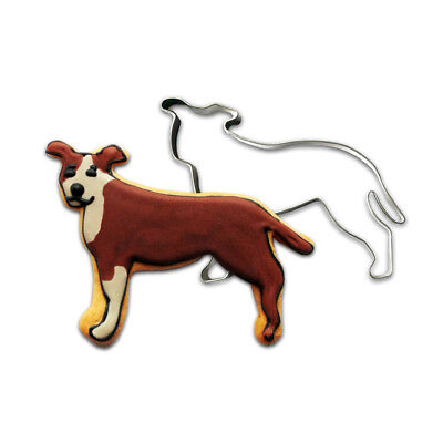 Pit Bull Cookie Cutter (Profile Natural Ears)