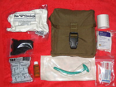 IFAK MOLLE NEW TAN / COYOTE FIRST AID KIT INDIVIDUAL MARINES