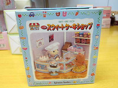 NEW JAPAN SYLVANIAN FAMILIES MI-04 SWEET CAKE SHOP TOY - Free shipment