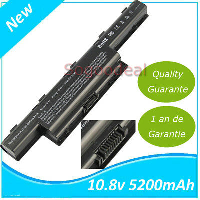 BATTERIE pc portable 5200mAh noir pour ACER 31CR19/652, AS10D31, AS10D3E