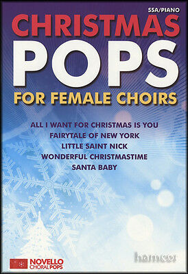 Christmas Pops for Female Choirs SSA/Piano Music Book