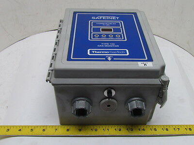 Thermo Tech SafeTNet 100 72-1300-01 Single Point Toxic Gas/Combustible Monitor