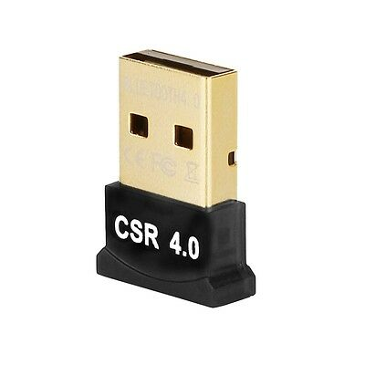 Mini Adaptateur USB 2.0 Bluetooth V4.0 CSR Dongle Sans Fil Dual - Neuf