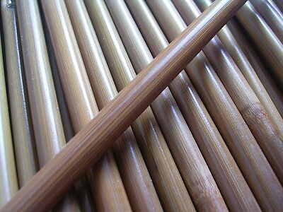 10 Bamboo arrowshafts 84cm  arrow making shafts spined 30-35# to 70-75#