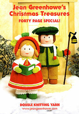 Jean Greenhowe's pattern Christmas Treasures 40 page special FREE NEEDLES