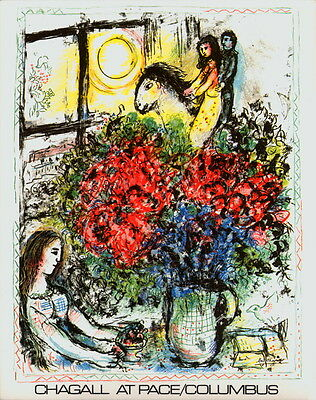 100 Marc Chagall 1979 La Chevauchee Lithographs