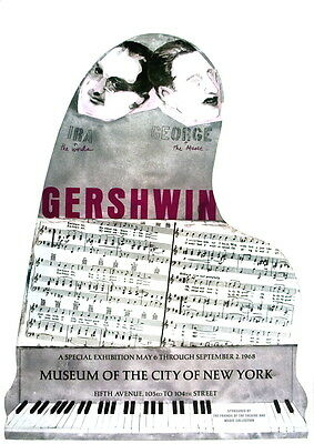 100 Larry Rivers 1995 Gershwin Brothers Posters