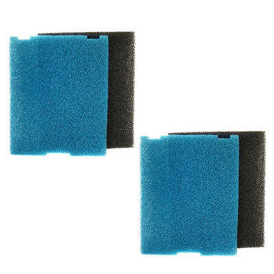 2-pack Submersible Pond and Flat Box Filter Pad for Tetra 6598, SF1, FK5, FK6