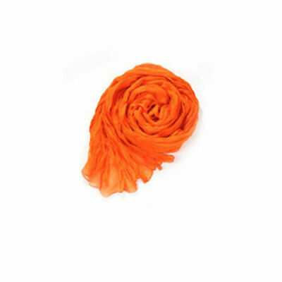 Fashion Shawl Women Pleated Long Candy Color Voile Scarf Wraps Stole Soft