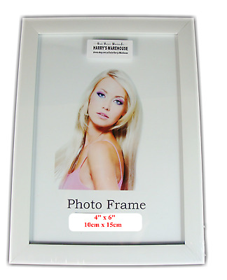 "12 x  Picture Photo 4""x 6"" Frame Frames  white  Wholesale Bulk Lots New"